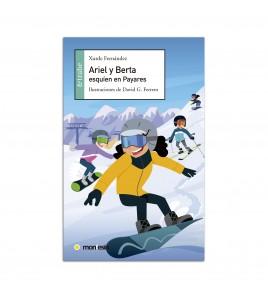 Ariel y Berta esquíen en Payares