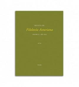 Revista de Filoloxía Asturiana. Volume 13-añu 2013