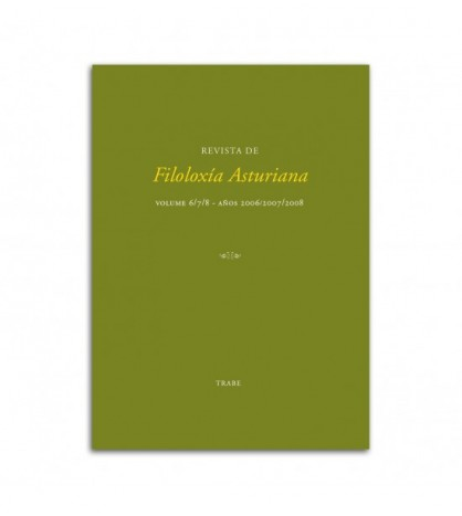 Revista de Filoloxía Asturiana. Volume 6/7/8